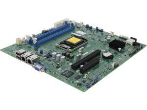 SUPERMICRO MBD-X10SLL-S-O uATX Server Motherboard LGA 1150 Intel C222 DDR3 1600