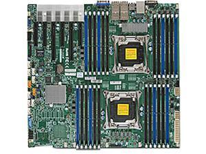 SUPERMICRO MBD-X10DRI-T4+-O Enhanced Extended ATX Xeon Server Motherboard Dual LGA 2011-3 Intel C612