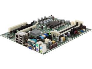 HP 8100 Elite MS-7557 LGA 1156 BTX 531991-001-U Motherboard
