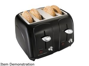 Proctor Silex 24201 Cool Touch 4 Slice Toaster Black