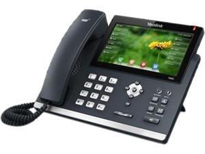 YEALINK YEA-SIP-T48G Yealink Ultra-Elegant Touchscreen Gigabit IP Phone