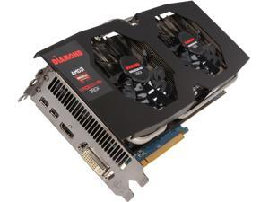 DIAMOND Radeon R9 280X R9280XD53GXOC Video Card