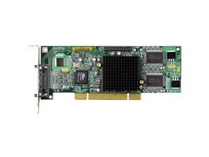 Matrox G550 G55MDDAP32DSF 32MB PCI Low Profile Low Profile Workstation Video Card