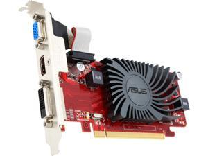 ASUS Radeon HD 6450 DirectX 11 EAH6450 Silent/DI/1GD3(LP) 1GB 64-Bit DDR3 PCI Express 2.1 HDCP Ready Low Profile Ready Video Card