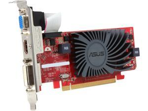 ASUS HD6450-SL-2GD3-L Radeon HD 6450 2GB 64-Bit DDR3 PCI Express 2.1 x16 HDCP Ready Low Profile Ready Video Card Manufactured Recertified