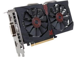 ASUS GeForce GTX 750 Ti STRIX-GTX750TI-OC-2GD5 2GB 128-Bit GDDR5 PCI Express 3.0 HDCP Ready Video Card
