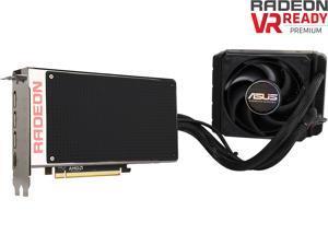 ASUS Radeon R9 Fury X DirectX 12 R9FURYX-4G 4GB 4096-Bit HBM PCI Express 3.0 HDCP Ready CrossFireX Support Video Card