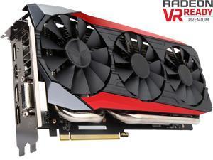 ASUS Radeon R9 Fury STRIX-R9FURY-DC3-4G-GAMING 4GB 4096-Bit HBM PCI Express 3.0 HDCP Ready Video Card