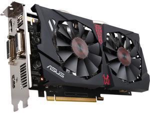 ASUS GeForce GTX 950 STRIX-GTX950-DC2OC-2GD5-GAMING 2GB 128-Bit GDDR5 PCI Express 3.0 HDCP Ready SLI Support Video Card