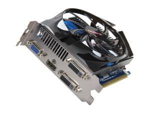 GIGABYTE GeForce GTX 650 Ti GV-N65TOC-1GI Video Card