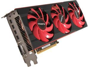 GIGABYTE Radeon HD 7990 GV-R799D5-6GD-B Video Card
