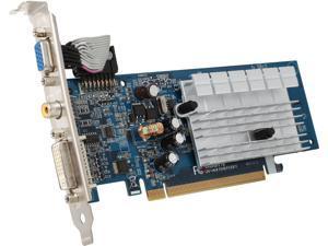 GIGABYTE GeForce 7200GS GV-NX72G512E1 Video Card