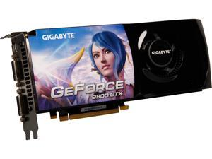 GIGABYTE GeForce 9800 GTX GV-NX98X512H-B Video Card
