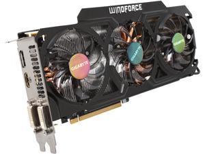 GIGABYTE GeForce GTX 770 GV-N770OC-4GD 4GB 256-Bit GDDR5 PCI Express 3.0 HDCP Ready WindForce 3X 450W Video Card