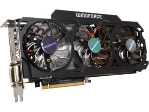 GIGABYTE GV-R929OC-4GD Radeon R9 290 4GB 512-Bit GDDR5 PCI Express 3.0 HDCP Ready Video Card Certified Refurbished