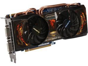 GIGABYTE Super Overclock Series GeForce GTX 560 Ti (Fermi) DirectX 11 GV-N560SO-1GI-950 1GB 256-Bit GDDR5 PCI Express 2.0 x16 HDCP Ready SLI Support Video Card