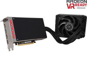 GIGABYTE Radeon R9 Fury X DirectX 12 GV-R9FURYX-4GD-B 1.0 4GB HBM PCI Express 3.0 x16 ATX Video Card