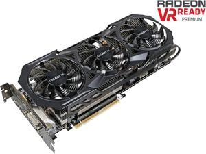 GIGABYTE Radeon R9 Fury DirectX 12 GV-R9FURYWF3OC-4GD 4GB 4096-Bit HBM PCI Express 3.0 ATX Video Card
