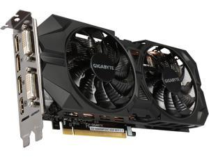 GIGABYTE GeForce GTX 960 DirectX 12 GV-N960WF2OC-4GD 4GB 128-Bit GDDR5 PCI Express 3.0 HDCP Ready SLI Support Video Cards