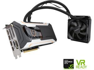 GIGABYTE GeForce GTX 1080 DirectX 12 GV-N1080XTREME W-8GD 8GB 256-Bit GDDR5X PCI Express 3.0 x16 ATX Xtreme Gaming Water cooling Video Card