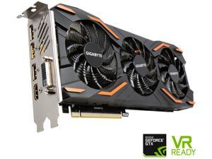 GIGABYTE GeForce GTX 1080 WindForce GV-N1080WF3OC-8GD Video Card