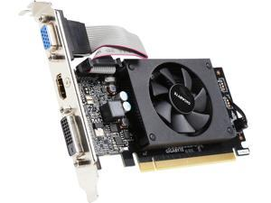 GIGABYTE GeForce GT 710 DirectX 12 GV-N710D3-2GL REV2.0 2GB 64-Bit DDR3 PCI Express 2.0 Low Profile Video Card