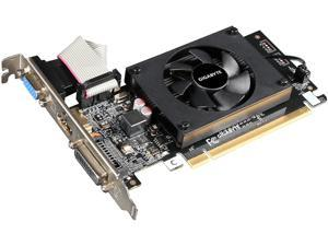 GIGABYTE GeForce GT 710 DirectX 12 GV-N710D3-1GL REV2.0 1GB 64-Bit DDR3 PCI Express 2.0 Low Profile Video Card