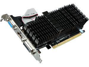 GIGABYTE GeForce GT 710 DirectX 12 GV-N710SL-1GL REV2.0 1GB 64-Bit GDDR3 PCI Express 2.0 Video Card