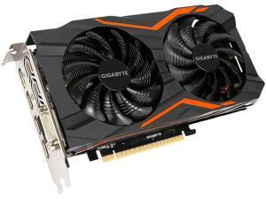 GIGABYTE GeForce GTX 1050 Ti DirectX 12 GV-N105TG1 GAMING-4GD 4GB 128-Bit GDDR5 PCI Express 3.0 x16 ATX Video Cards