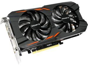 GIGABYTE GeForce GTX 1050 Ti DirectX 12 GV-N105TWF2OC-4GD 4GB 128-Bit GDDR5 PCI Express 3.0 x16 ATX Video Card