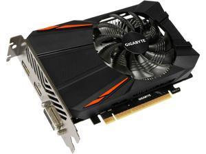 GIGABYTE GeForce GTX 1050 Ti DirectX 12 GV-N105TD5-4GD 4GB 128-Bit GDDR5 PCI Express 3.0 x16 ATX Video Cards