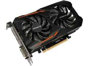 GIGABYTE GeForce GTX 1050 DirectX 12 GV-N1050OC-2GD 2GB 128-Bit GDDR5 PCI Express 3.0 x16 ATX Video Cards