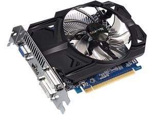 GIGABYTE Ultra Durable 2 GeForce GT 740 DirectX 12 GV-N740D5OC-2GI (rev. 3.0) 2GB 128-Bit GDDR5 PCI Express 3.0 x16 ATX Video Card