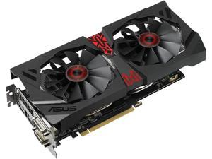 ASUS Radeon R9 380X STRIX-R9380X-4G-GAMING 4GB 256-Bit GDDR5 PCI Express 3.0 Video Card