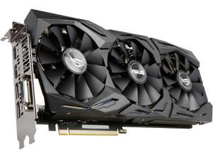 ASUS ROG GeForce GTX 1070 STRIX-GTX1070-O8G-GAMING 8GB 256-Bit GDDR5 PCI Express 3.0 HDCP Ready Video Card