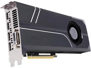 ASUS GeForce GTX 1080 TURBO-GTX1080-8G 8GB 256-Bit GDDR5X PCI Express 3.0 HDCP Ready SLI Support Video Card