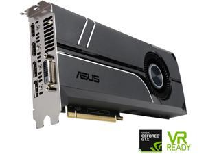 ASUS GeForce GTX 1070 TURBO-GTX1070-8G 8GB 256-Bit GDDR5 PCI Express 3.0 HDCP Ready SLI Support Video Card