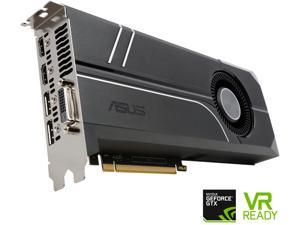ASUS GeForce GTX 1060 TURBO-GTX1060-6G 6GB 192-Bit GDDR5 PCI Express 3.0 HDCP Ready Video Card