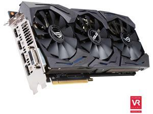 ASUS ROG Radeon RX 480 STRIX-RX480-O8G-GAMING 8GB 256-Bit GDDR5 PCI Express 3.0 HDCP Ready Video Card