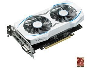 ASUS Dual-fan Radeon RX 460 2GB OC Edition AMD Gaming Graphics Card with DP 1.4 HDMI 2.0 (DUAL-RX460-O2G)