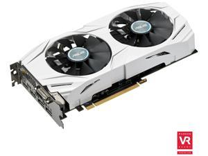ASUS Dual-fan Radeon RX 480 4GB OC Edition AMD Gaming Graphics Card with DP 1.4 HDMI 2.0 (DUAL-RX480-O4G)