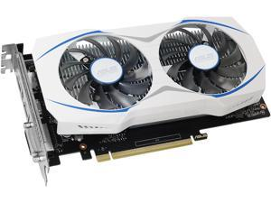 ASUS GeForce DUAL GTX 1050 Ti 4GB Dual-fan Edition DVI-D HDMI DP 1.4 Gaming Graphics Card (DUAL-GTX1050TI-4G)