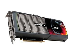 MSI GeForce GTX 480 (Fermi) N480GTX-M2D15-B Video Card