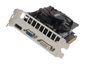 MSI N630GT-MD2GD3 GeForce GT 630 2GB 128-Bit DDR3 PCI Express 2.0 x16 HDCP Ready Video Card