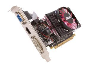MSI GeForce GT 620 N620GT-MD2GD3/LP Video Card