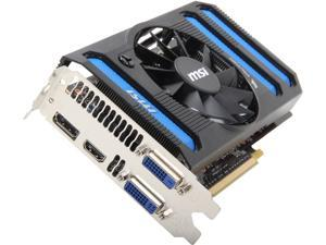 MSI GeForce GTX 650 Ti BOOST N650ti-2GD5/OC BE Video Card