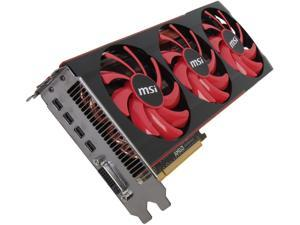 MSI Radeon HD 7990 DirectX 11.1 R7990-6GD5 6GB 384-Bit x2 GDDR5 PCI Express 3.0 x16 HDCP Ready CrossFireX Support Video Card