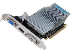MSI GeForce 210 N210-MD1GD3H/LP Video Card