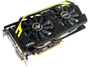 MSI Radeon R9 270X R9 270X HAWK Video Card