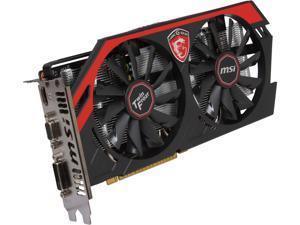 MSI GeForce GTX 750Ti GAMING DirectX 12 N750Ti TF 2GD5/OC 2GB 128-Bit GDDR5 PCI Express 3.0 x16 HDCP Ready Video Card